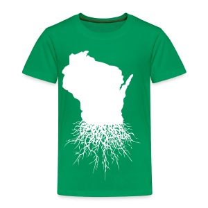 Wisconsin Roots - Toddler Premium T-Shirt