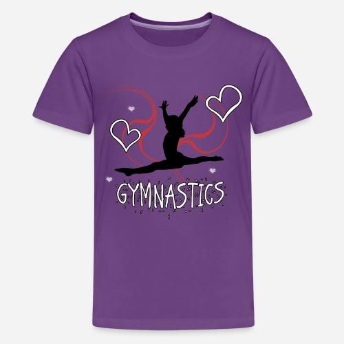 Gymnastics T-Shirt - Kids' Premium T-Shirt