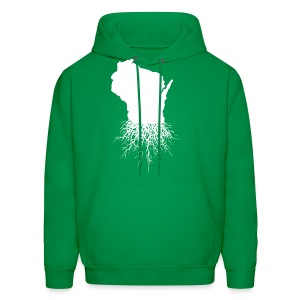 Wisconsin Roots - Men's Hoodie