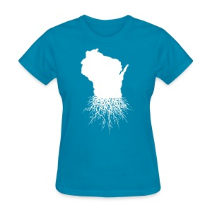 Wisconsin Roots - Women's T-Shirt