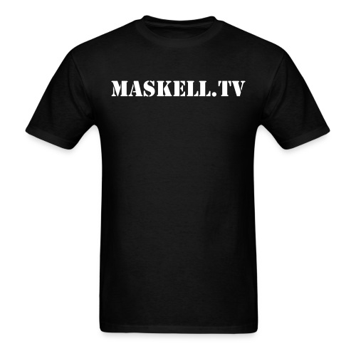 MASKELL.TV Classic Logo - Men's T-Shirt