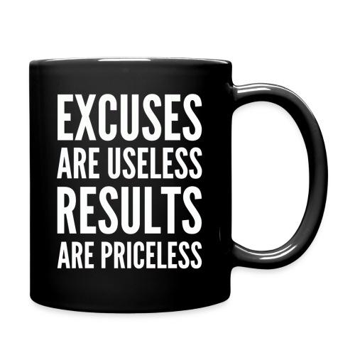 Excuses are Useless Coffee Mug - Full Color Mug