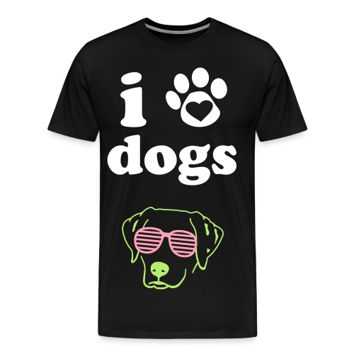 The Shirt For the dog people. - Men's Premium T-Shirt
