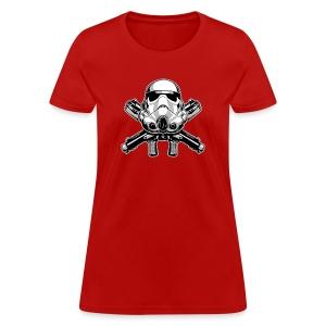 Helmet and Crossbones - Women's T-Shirt