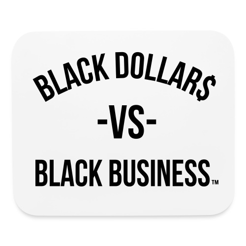 Black Dollars Mouse Pad - Mouse pad Horizontal
