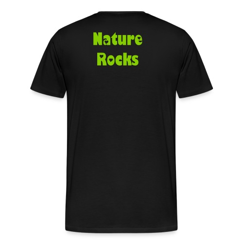 Nature Rocks Line - Men's Premium T-Shirt