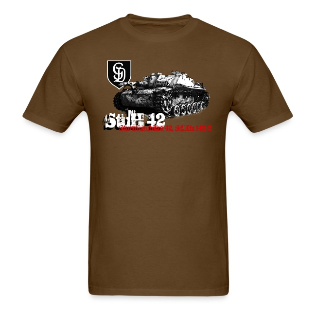 StuH42 Armor Journal t-shirt