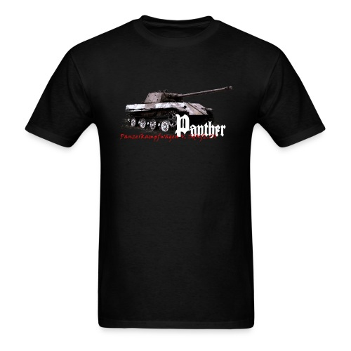 Panther Armor Journal t-shirt (No Logo) - Men's T-Shirt
