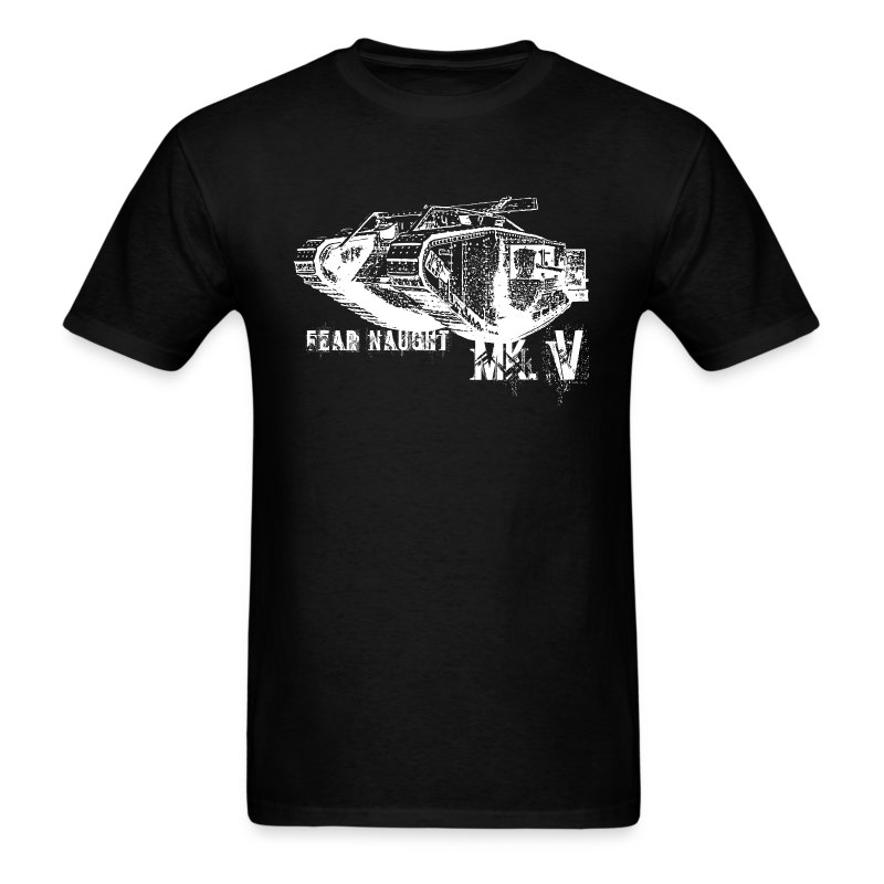 The British WWI Mk.V tank T-shirt. - Men's T-Shirt