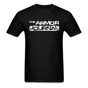 The Armor Journal t-shirt. - Men's T-Shirt