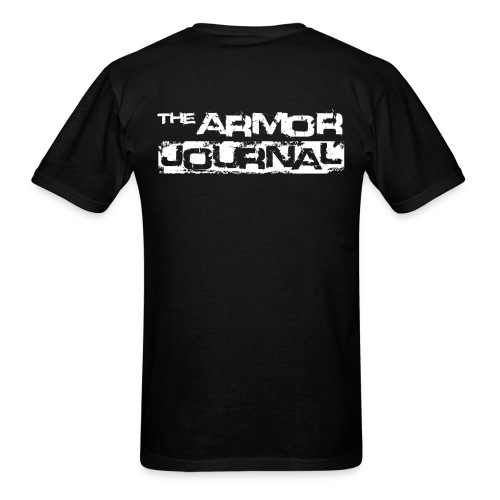 The Armor Journal Mk.V tank T-shirt. - Men's T-Shirt