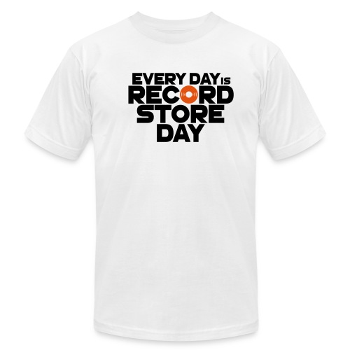Every Day is Record Store Day - Men's Fine Jersey T-Shirt