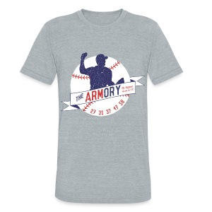 The Armory - Unisex Tri-Blend - Unisex Tri-Blend T-Shirt by American Apparel