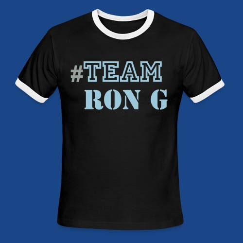 TEAM RON G  - Men's Ringer T-Shirt