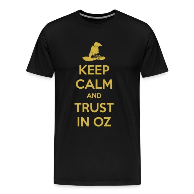 Keep Calm Oz - Purple/Yellow
