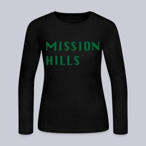 Mission Hills - Women's Long Sleeve Jersey T-Shirt