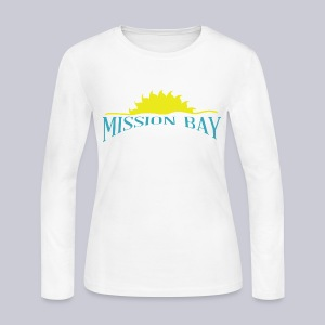 Misson Bay San Diego - Women's Long Sleeve Jersey T-Shirt