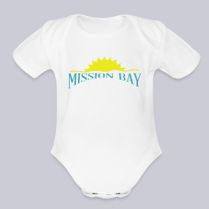 Misson Bay San Diego - Short Sleeve Baby Bodysuit
