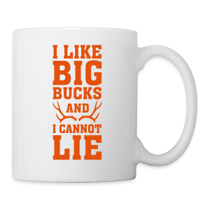 Big Bucks, No Lies Mug - Coffee/Tea Mug