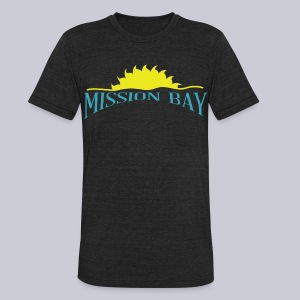 Misson Bay San Diego - Unisex Tri-Blend T-Shirt by American Apparel