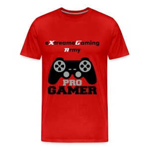 eXtreameGaming Army Console (Red Men's T-Shirt)   - Men's Premium T-Shirt