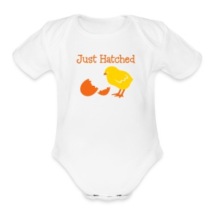 Easter Baby 1-piece - Short Sleeve Baby Bodysuit