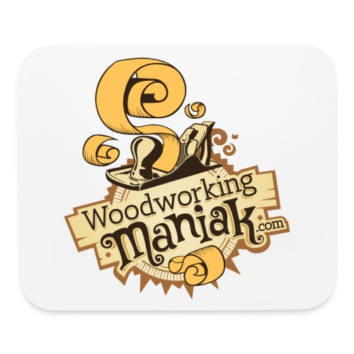 WoodworkingManiak_logo-1-LARGE.png - Mouse pad Horizontal