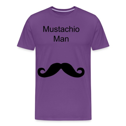 Mustachio Man - Men's Premium T-Shirt