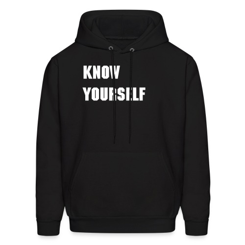 Know yourself, Know your worth - Men's Hoodie