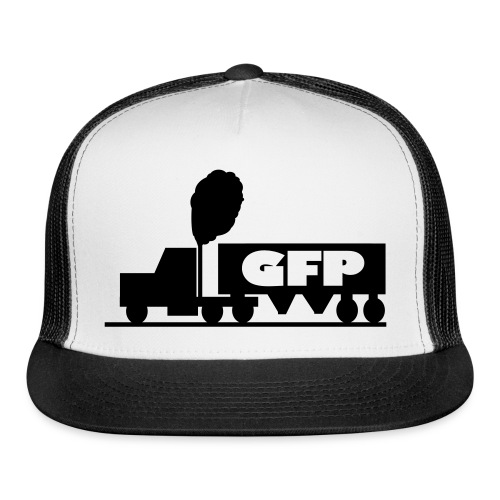 coal_truck - Trucker Cap
