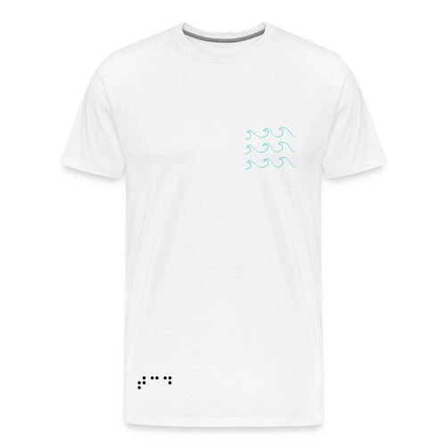 Waves. - Men's Premium T-Shirt