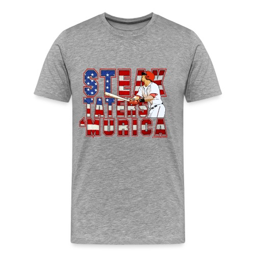 Steak Taters 'Murica 2015 - Men's T - Men's Premium T-Shirt