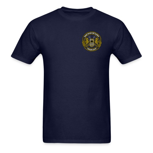 Year of the Military Diver w/ NDSTC Logo - Men's T-Shirt