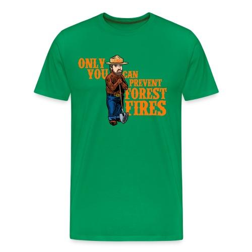 Smokey, the Beast - Men's Premium T-Shirt
