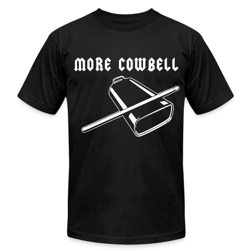 MORE COWBELL - Men's  Jersey T-Shirt