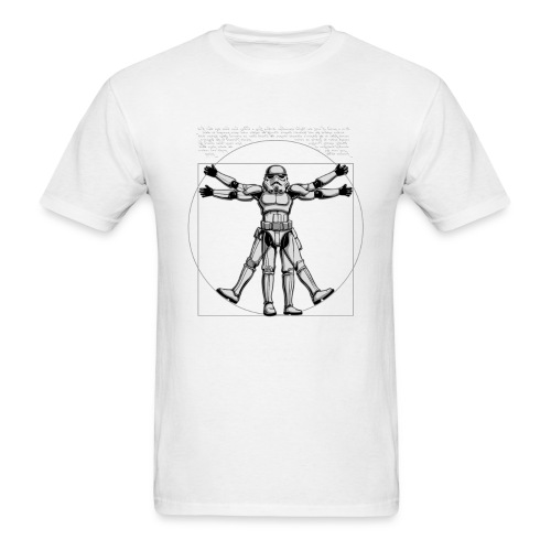Vitruvian Trooper - Men's T-Shirt