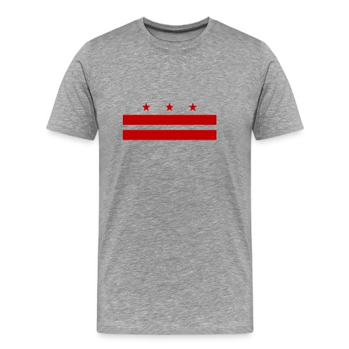 MEN'S TOP10INDACITY DC FLAG T-SHIRT - Men's Premium T-Shirt