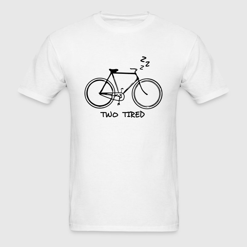 Two Tired - Bicycle T-Shirts - Men's T-Shirt