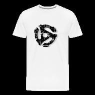 T-Shirts ~ Men's Premium T-Shirt ~ Record Adaptor T-Shirt (Men) Vintage Shadow
