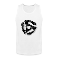 Sportswear ~ Men's Premium Tank ~ Record Adaptor Tank Top (Vintage Shadow)