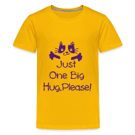 Kids' Shirts ~ Kids' Premium T-Shirt ~ Just one big hug Kids' Premium T-Shirt
