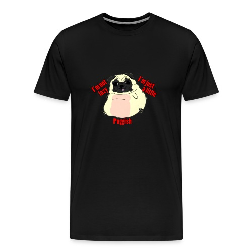 Puggish T - Mens - Men's Premium T-Shirt