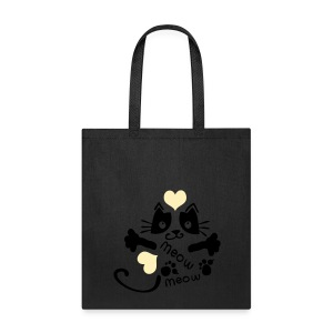 meow meow kitty cat Tote Bag - Tote Bag