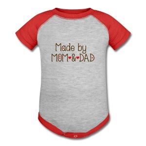 Made by Mom and Dad Baby Contrast One Piece - Baby Contrast One Piece