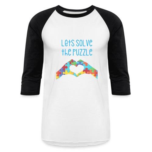 Autism Awareness Tshirt - Baseball T-Shirt