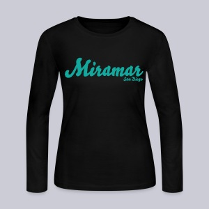 Miramar San Diego - Women's Long Sleeve Jersey T-Shirt