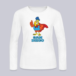 San Diego Chickens - Women's Long Sleeve Jersey T-Shirt