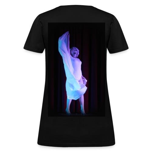 Glitzy Jacqueline Frost T-shirt - Women's T-Shirt