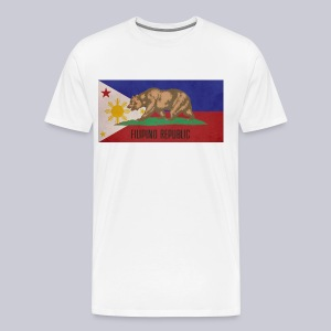 Filipino Republic California Flag - Men's Premium T-Shirt