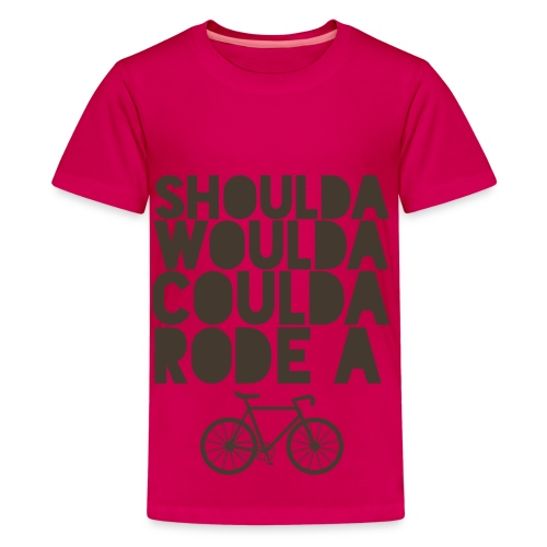 Kids' Premium T-Shirt - Everyday is a good day to ride a bike!